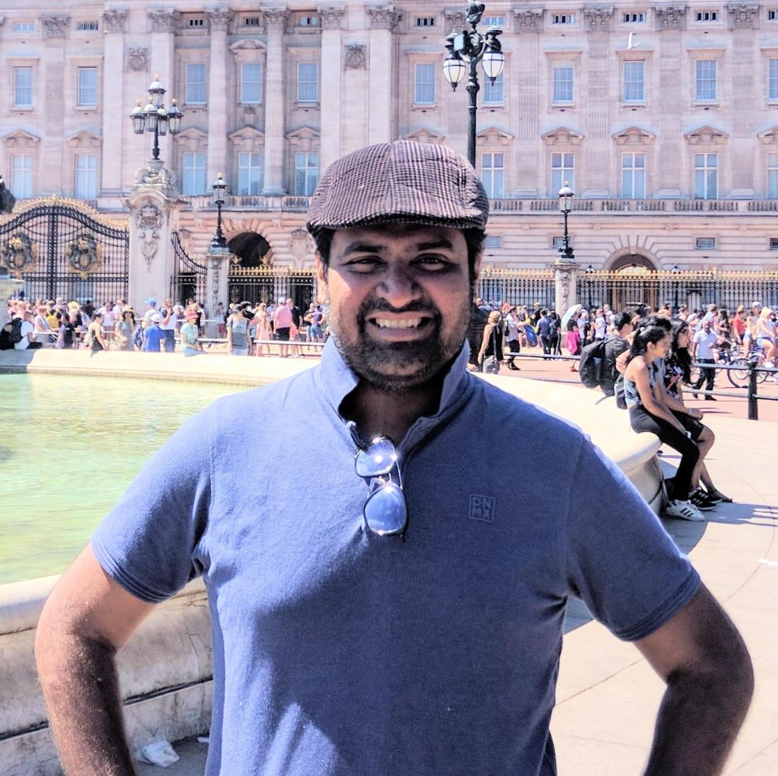 Hardik@London